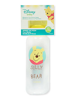 Winnie the Pooh Baby Bottle by Disney in Yellow
