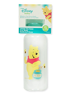 Winnie the Pooh Honey Bear Baby Bottle by Disney in Aqua