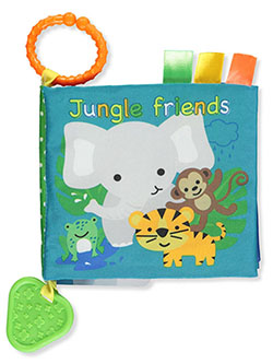 Baby Boys' Jungle Friends Book and Teether by Playtex in Blue