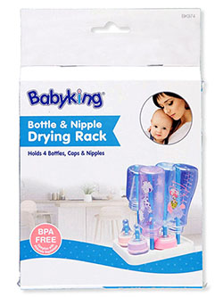 Bottle & Nipple Drying Rack by Babyking in Multi