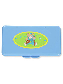 Wipes Case by Baby King in blue and green, Infants