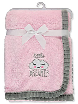 Little Dreamer Plush Blanket by Cribmates in Multi