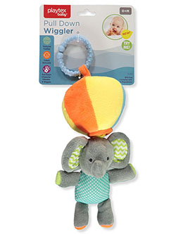 Baby Pull Down Wiggler Teether Toy by Playtex in Multi