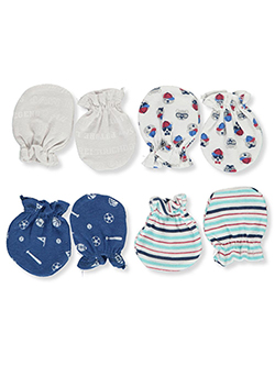 Baby Boys' 4-Pack Mittens by Petite L'amour in Multi
