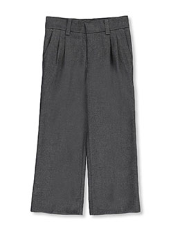 "Little Boys' ""Twill Blend"" Pleated Pants by Rifle in gray and navy, School Uniforms"