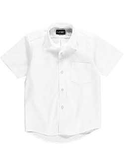 Kaynee Little Boys' S/S Button-Down Shirt (Sizes 4 - 7) - CookiesKids.com