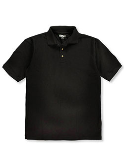 Men's S/S Pique Polo by Kaynee in black, blue, yellow and more