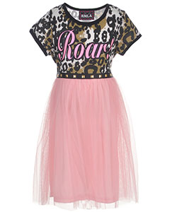 "RMLA Big Girls' ""Roaring Princess"" Dress (Sizes 7 – 16) - CookiesKids.com"