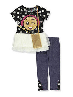 RMLA Little Girls' Toddler 2-Piece Outfit with Purse (Sizes 2T – 4T) - CookiesKids.com