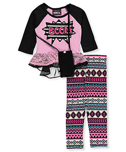 RMLA Little Girls' 2-Piece Outfit with Purse (Sizes 4 – 6X) - CookiesKids.com