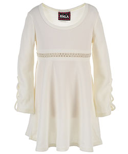 RMLA Little Girls' L/S Dress (Sizes 4 – 6X) - CookiesKids.com
