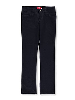 "Big Girls' Junior ""Slight Flare"" Jeggings by BH+SC in Navy - $2.99"