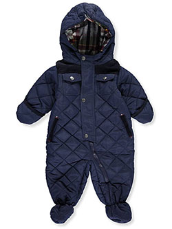 "R. 1881 Baby Boys' ""Camper"" Insulated Pram Suit - CookiesKids.com"