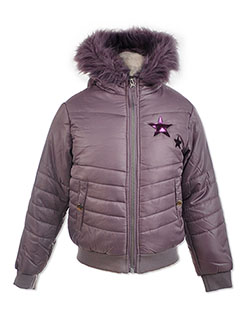 Star Patch Insulated Jacket by Arizona Jean Company in Lavender