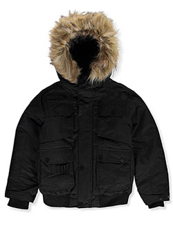 Big Boys' Insulated Jacket by Rocawear in Black
