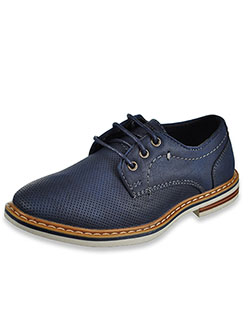 Boys' Lace-Up Loafers by Xray in Navy - Dress Shoes