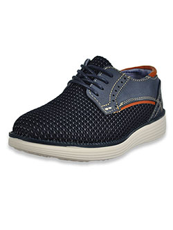 Boys' Lace-Up Loafers by Xray in navy and taupe - Dress Shoes