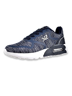 Boys' Knit Running Sneakers by Xray in Navy