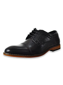 Boys' Dickinson Oxford Dress Shoes by Stacy Adams in black and cognac