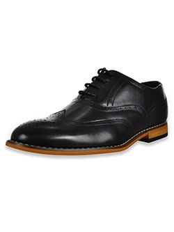 Boys' Dunbar Dress Shoes by Stacy Adams in black and cognac
