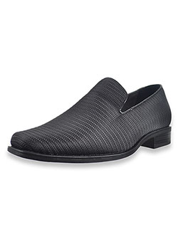 Boys' Taz Loafers by Stacy Adams in black and navy - Dress Shoes