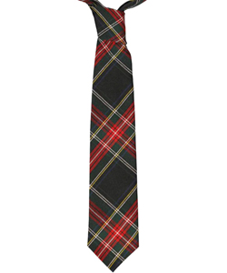 Boys' Traditional 4-in-Hand Necktie in black, black/red, red/white/navy and more