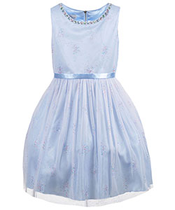"Couture Princess Big Girls' Plus Size ""Confetti Sparkle"" Dress (Sizes 12.5 – 20.5) - CookiesKids.com"