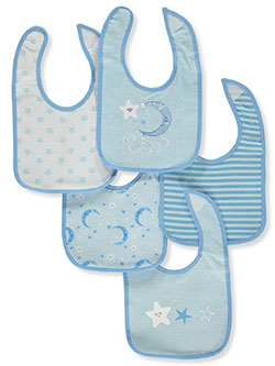 Baby Boys' 5-pack bibs by Sweet & Soft in Multi - Bibs