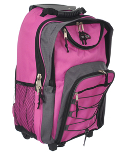 "Citisport ""Bungee Tech"" Rolling Backpack - CookiesKids.com"