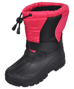 "Skadoo Girls' ""Snow Goer"" Boots (Youth Sizes 13 – 2) - CookiesKids.com"