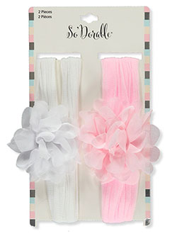 2-Pack Tulle Flower Headbands by So'dorable in Multi