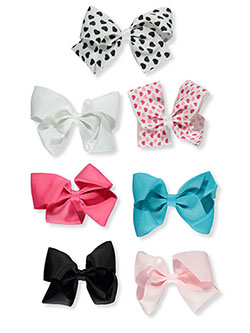 7-Pack Hair Clips by Buttons & Bows in Pink/multi