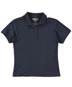 Smith's American Big Girls' S/S Pique Polo - CookiesKids.com