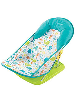 Deluxe Bath Sling by Summer Infant in Lime/blue