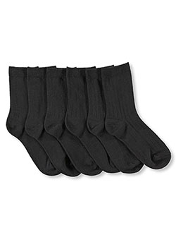 """Classic"" 3-Pack Dress Socks in Gray, Boys Fashion"