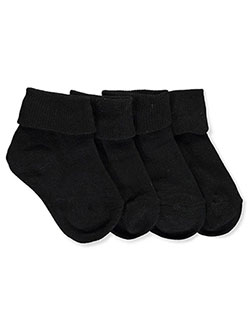 Triple Roll 2-Pack Socks in black, burgundy, yellow and more, Girls Fashion