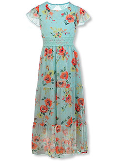 Girls' Floral Dress by Speechless in Mint