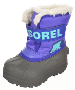 Sorel Girls Snow Commander Boots (Toddler Sizes 6 – 7) - CookiesKids.com
