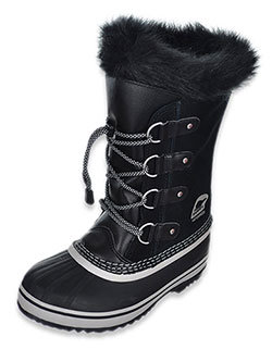 Girls' Joan of Artic Boots by Sorel in Black, Shoes