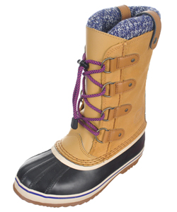 Sorel Boys' Joan of Arctic Knit Boots (Youth Sizes 1 – 7) - CookiesKids.com