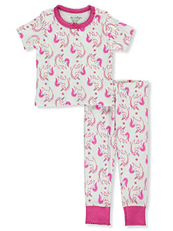 Baby Girls' Unicorn 2-Piece Pajamas by Hartstrings in White