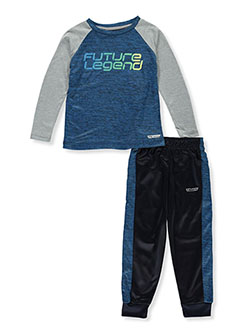 Future Legend 2-Piece Joggers Set Outfit by Hind in Royal/multi, Boys Fashion