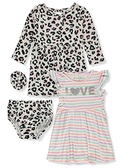 Love 4-Piece Dress Set by Freestyle Revolution in Multi