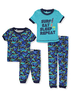 Boys' Surf 2-Pack Pajamas by Freestyle in Multi