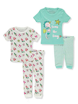 Baby Girls' Seas 2-Pack Pajamas by Freestyle in Multi