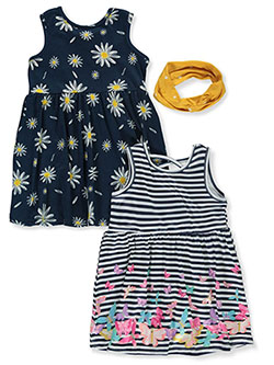 2-Pack Dresses With Headband by Freestyle Revolution in Multi