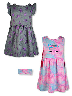 Freestyle Revolution 2-Pack Dresses With Headband by Stargate Apparel in Multi, Infants