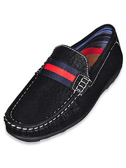Boys' Driving Loafers by Steve Harvey in Black, Shoes