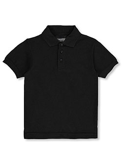 Unisex S/S Pique Polo by Universal in black, blue, yellow and more - $15.00
