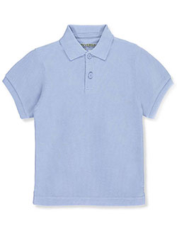 Universal Unisex S/S Pique Polo (Sizes 8 - 20) - CookiesKids.com